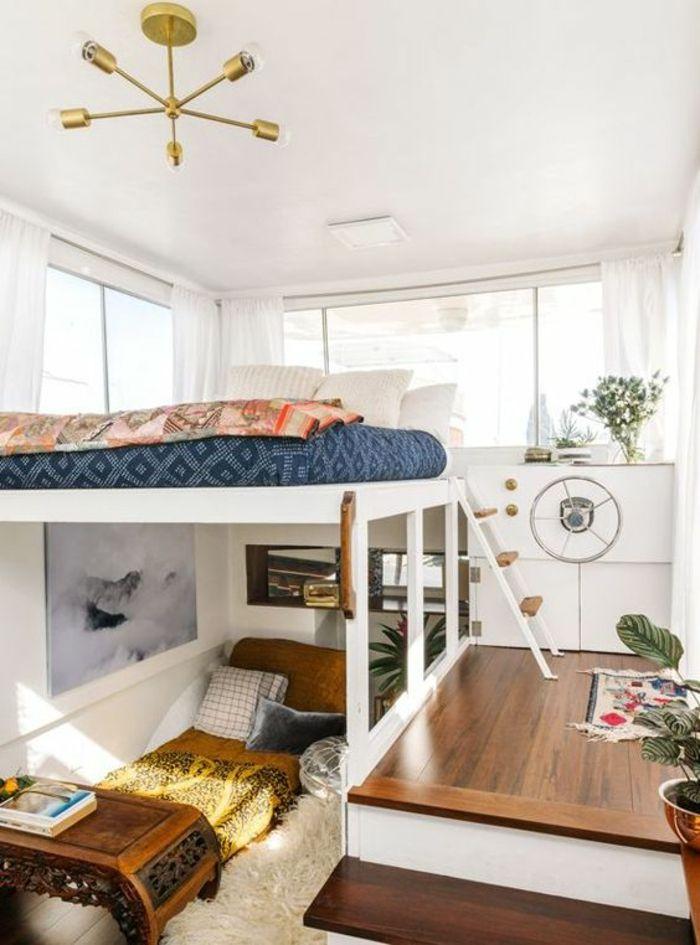 les 25 meilleures id es de la cat gorie chambres avec lits superpos s sur pinterest chambres. Black Bedroom Furniture Sets. Home Design Ideas