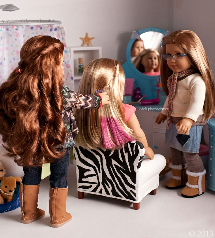 """Dolly Dorm Diaries ~ Our American Girl Doll Blog Adventures : { Let's Talk """"Hair"""" with Girl Of The Year Isabelle! }"""