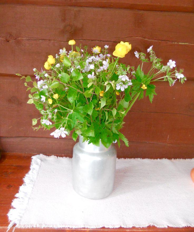 2016 Juhannuksen kesäkukka kimppu - 2016 Midsummer flower bouquet