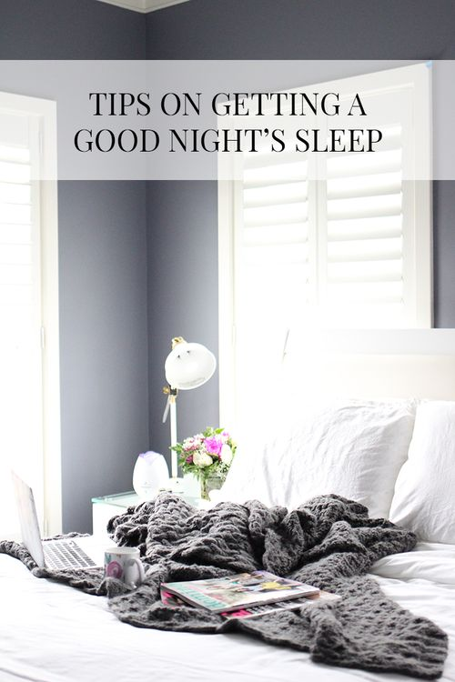 Tips For A Good Night's Sleep — Let It Be Beautiful