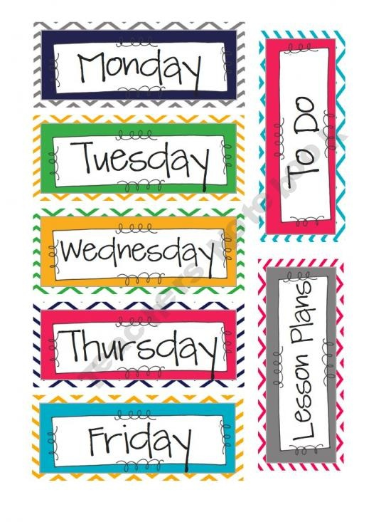 655 best images about classroom theme on pinterest for Room labels