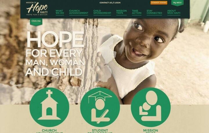 Haiti social work #webdesign