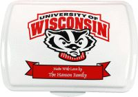 9x13 Wisconsin Logo, Traditional Cake Pan & Lid - $39.95 : That's My Pan!, Personalized Cake Pans and More