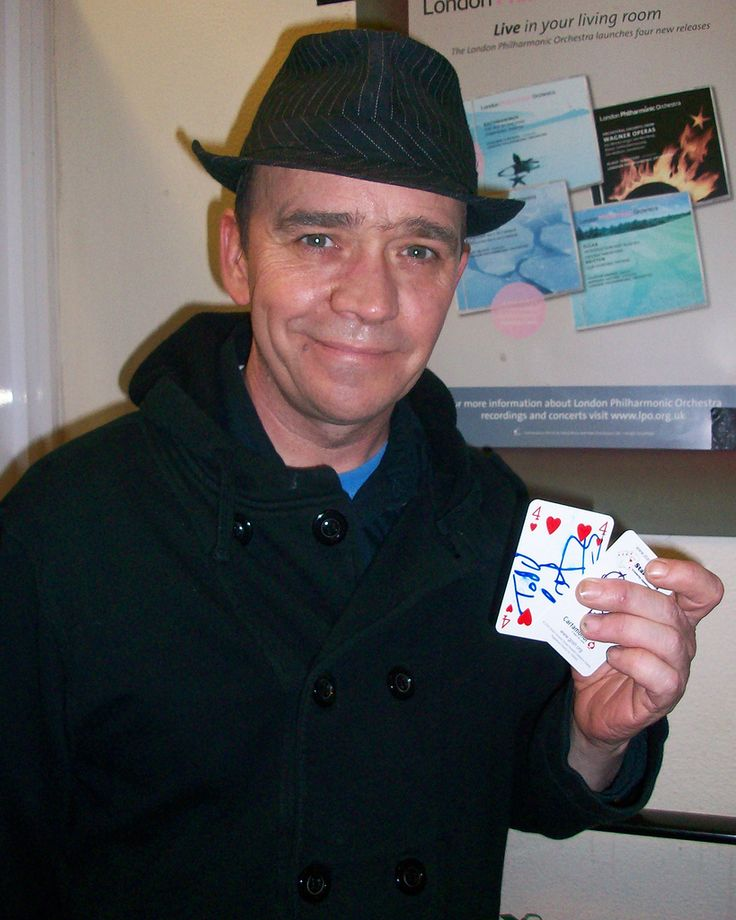 StarCards supporter Todd Carty