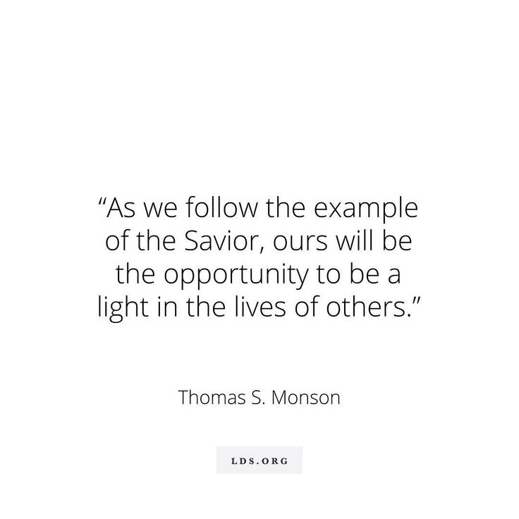 """Our opportunities to shine surround us each day, in whatever circumstance we find ourselves. As we follow the example of the Savior http://facebook.com/173301249409767, ours will be the opportunity to be a light in the lives of others."" From #PresMonson's http://pinterest.com/pin/24066179228814793 inspiring #LDSconf http://facebook.com/223271487682878 message http://lds.org/general-conference/2015/10/be-an-example-and-a-light #BeALight; #MakeADifference; #ShareGoodness"