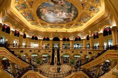 Casinos and Hotels make up most of the floor space..