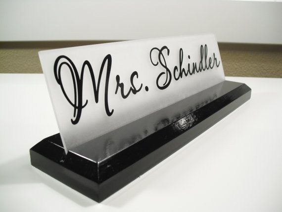 Office Name Plates: 1000+ Ideas About Name Plates On Pinterest