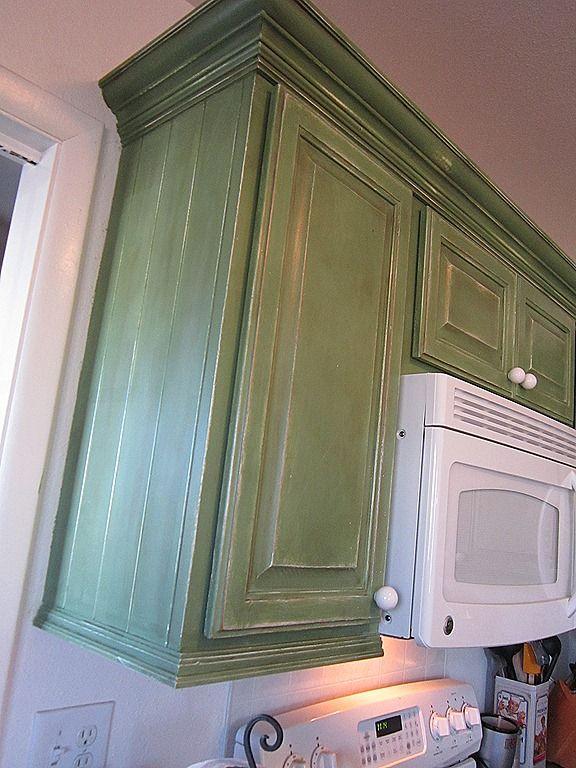 moldeo gabinete de cocina de la corona