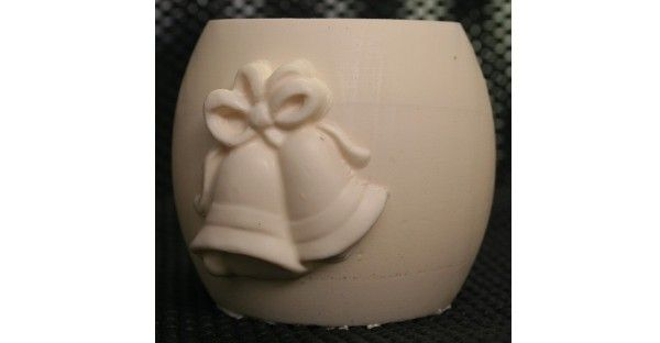 Wedding Bells Fondant Candle Mold - Most designs are held in stock. Should you require a mold that is out of stock, we can pour a fresh one in less than 24 hours. If you require multiples of one design, we will tell you at the time of order the exact day your molds will be posted.