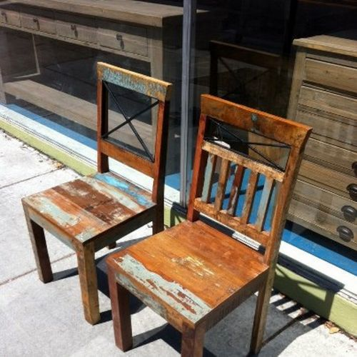 Marigold Chairs from The Wooden Duck