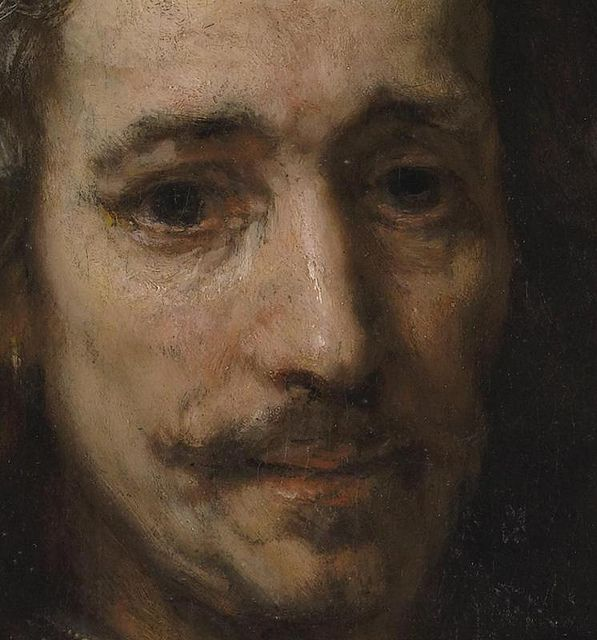 Rembrandt | Man with a Magnifying Glass |