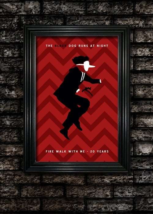 Twin Peaks Fire Walk With Me Limited Edition Poster. $15.00, via Etsy.