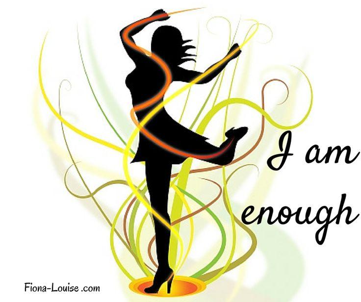 #iam #iamenough #inspiration #motivational #fionalouiseauthor #quotes