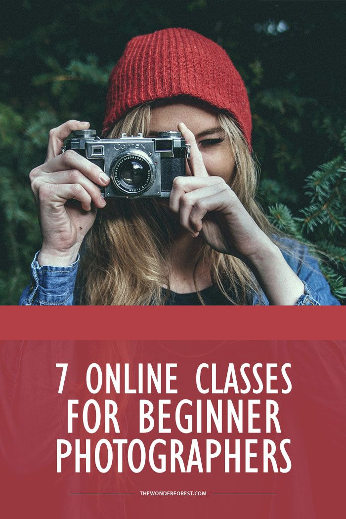 7 Online Photography Classes for Beginners - Wonder Forest