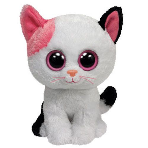 List of All Beanie Boos | TY Beanie Boos - MUFFIN the Cat (Solid Eye Color) (Regular Size - 6 ...