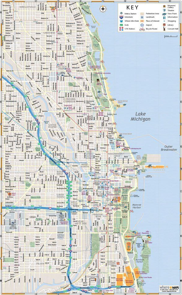Chicago Subway Map Wrigley Field.When You Re Ready To Explore Chicago From Wrigley Field To The Navy