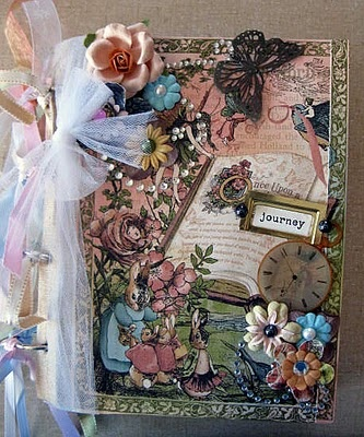 gorgeous altered book