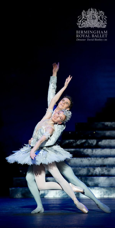 Birmingham Royal Ballet - Cinderella; Elisha Willis as Cinderella and Iain Mackay as the Prince; photo: Bill Cooper