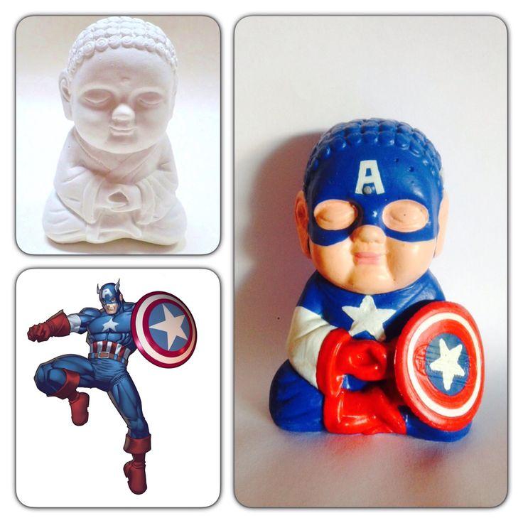 Colorful Capitán América