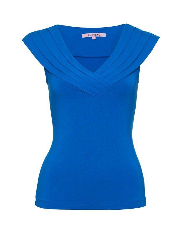 Review Australia   Margo Top Brilliant Blue