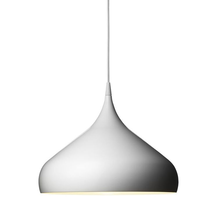 Spinning ceiling light BH2 in white by &Tradition for dining room @Susan Young.