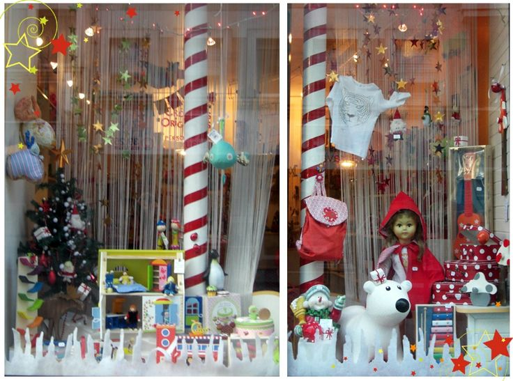 Pinterest decoration vitrine printemps decoration - Decoration de vitrine de noel ...