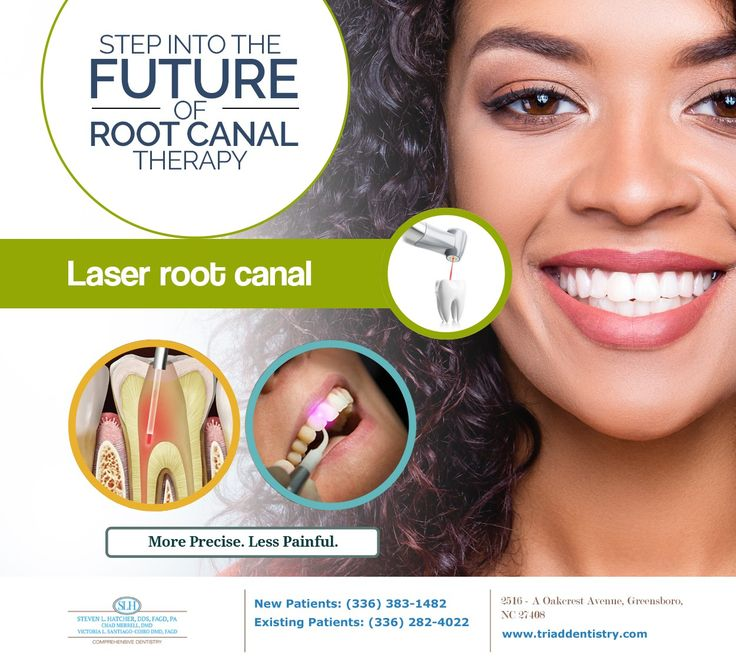 Root canal therapy is already so advanced that it causes