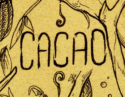 """Check out new work on my @Behance portfolio: """"Cacao. Primera postal"""" http://be.net/gallery/43327525/Cacao-Primera-postal"""