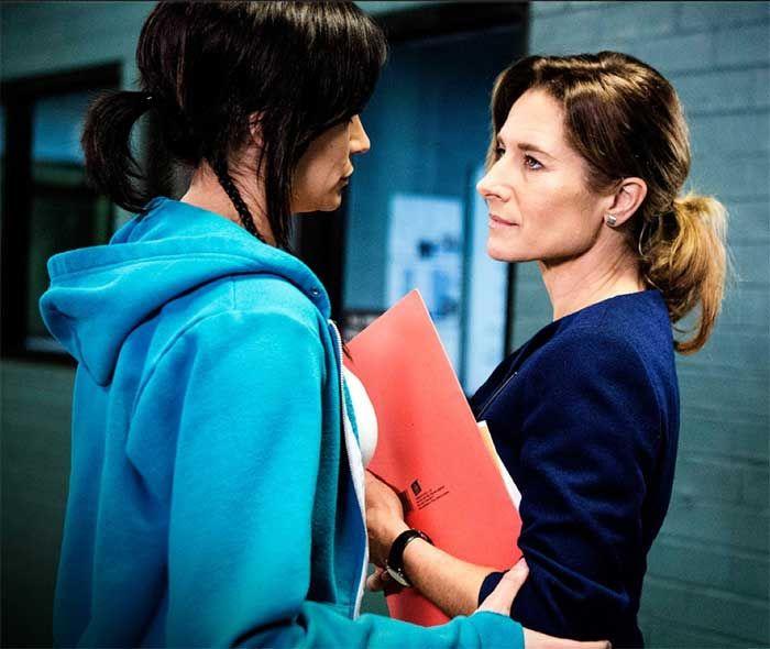 Nicole da Silva and Libby Tanner in Wentworth season 3