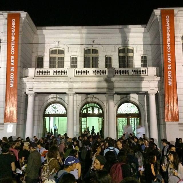 """Inauguración exposición """"Sub 30"""" en el MAC Quinta Normal."""