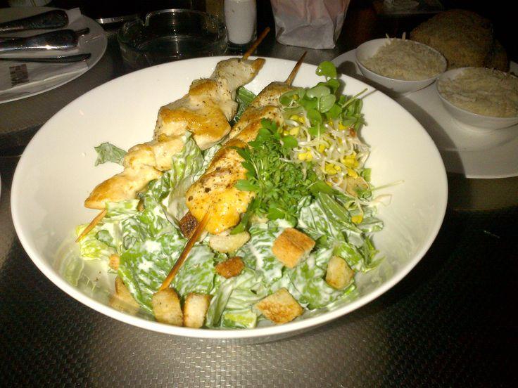 Tasty salad @ Cafe Restaurant Halle