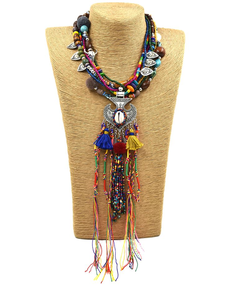 Cheap choker necklace, Buy Quality pendant necklace directly from China  necklace handmade Suppliers: New Clothing Accessories Bohemia Boho Ethnic  Beaded ...