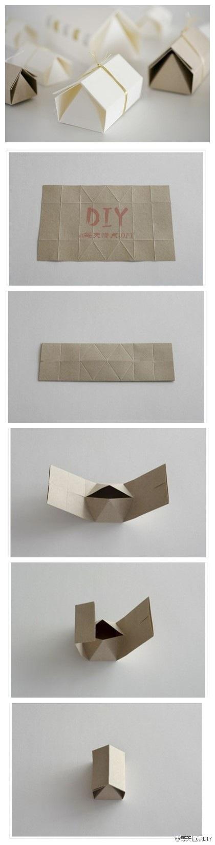 origami house box