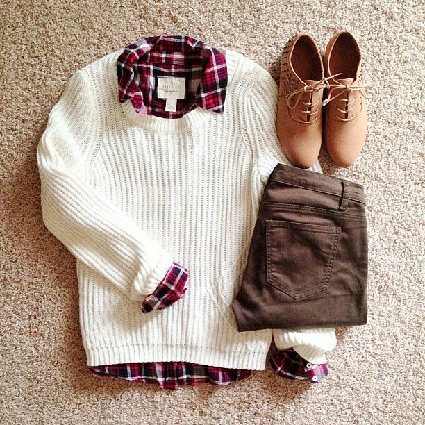 Cute Preppy Outfit Clothes Galore Pinterest Sweater