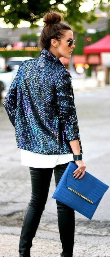 Blue Sequins. Xoxo bleuclothing.com