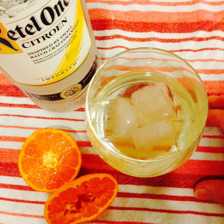 Vodka Drinks: Kettle One Citroen and Clementine