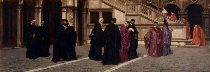 Bernardo Celentano, Il Consiglio dei Dieci, 1861