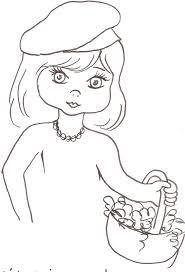 Resultado de imagem para risco de bonecas para pano de prato