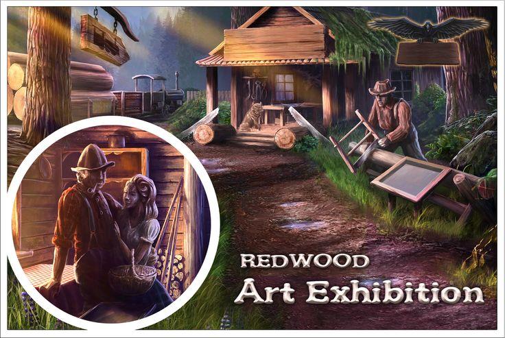 Postcards are available at the souvenir shop: www.artifexmundi.... #game #adventure #art #exhibition #ravenwood #enigmatis