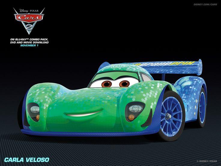 Carla Veloso Disney Pixar Cars 2 Free Hd Wallpaper 1600 1200