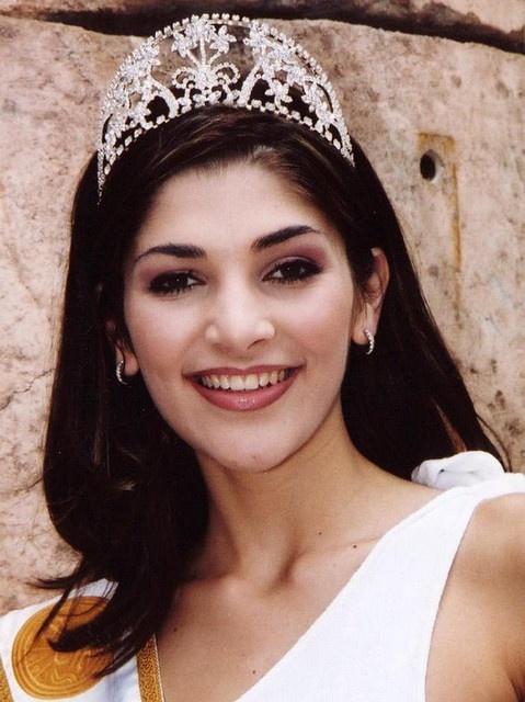 Vanessa Carreira miss south africa 2001
