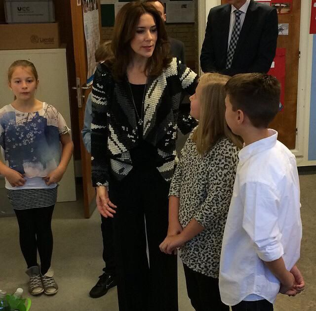 Crown Princess Mary attended the 25th anniversary of the Convention on the Rights of Children in Danish Refugee Council. 20 November 2014.