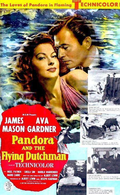 Pandora y el holandés errante (1950) HD | clasicofilm