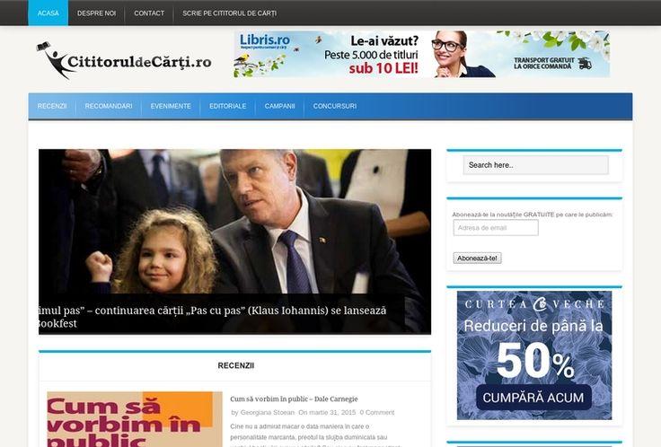 Votează blogul Cititorul de Cărți