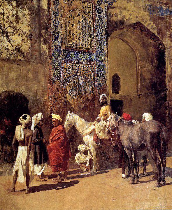 Edwin Lord Weeks ~ Academic painter