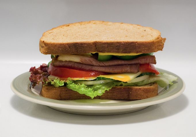 Recipe : Cheese and Lettuce Sandwich | Whatshelikes.in