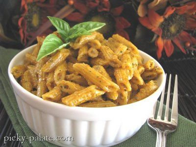Roasted Red Pepper Pesto Penne and Ridiculous Brownies