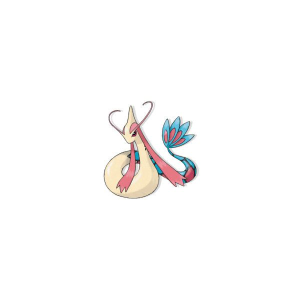"""Milotic"" pokédex • Pokémon Database ❤ liked on Polyvore featuring pokemon"