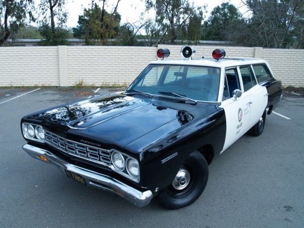 Old Police Cars For Sale In Los Angeles