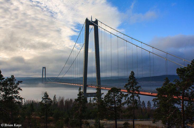 Högakustensbro/The High coast bridge, Sweden
